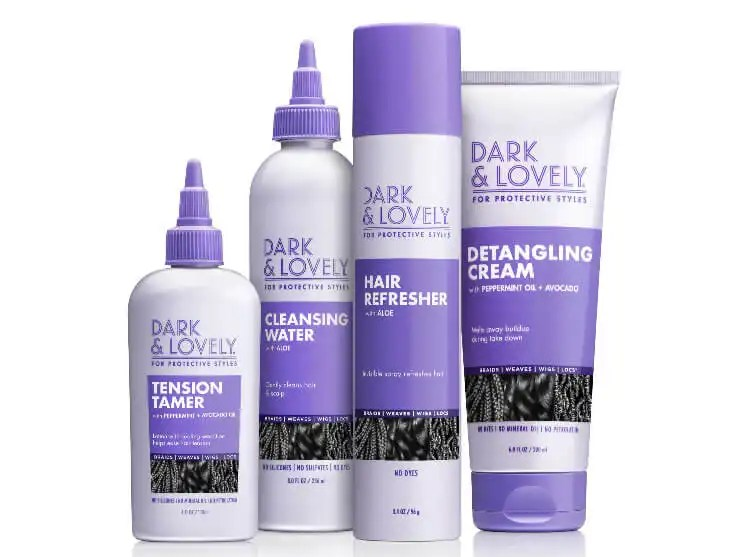 Dark & Lovely Launches New Line Of Hair Care For Protective Styles