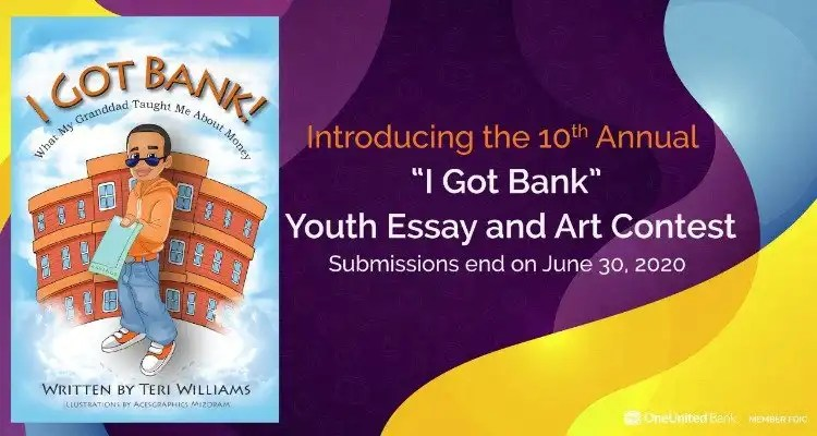 OneUnited Bank Announces 10th Anniversary 'I Got Bank' National Financial Literacy Contest For Youth
