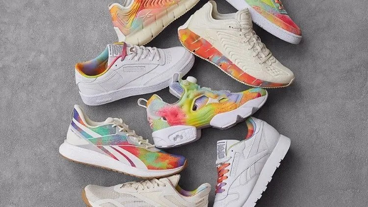 Reebok Celebrates LGBTQ+ Community Pride with 'All Types of Love' Collection and 'Proud Notes' Campaign