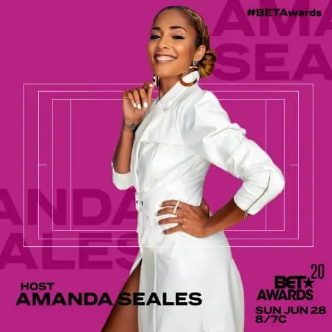 "Amanda Seales to Host the ""BET AWARDS"" 2020 Broadcast Set to Air on BET & CBS on Sunday, June 28"