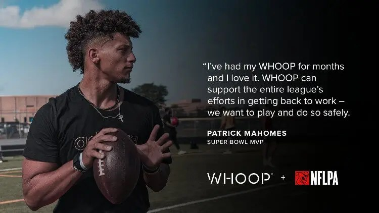 NFLPA Provides WHOOP to All Active NFL Players