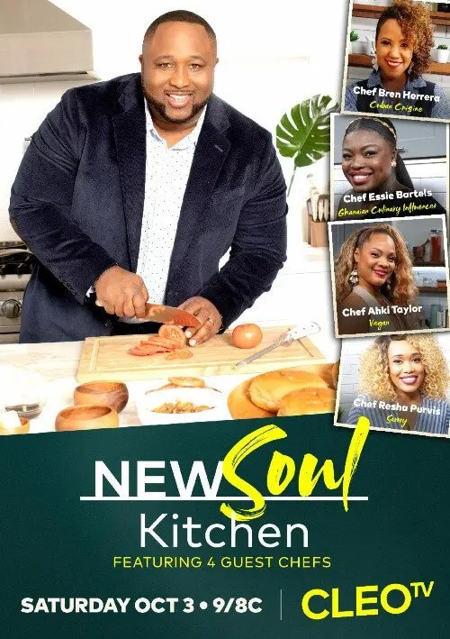 CLEO TV Announces Season Two of New Soul Kitchen returns Saturday, October 3