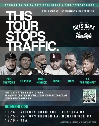 Stop That Traffic Tour Raises Awareness About Boys Trapped in Human and Sex Trafficking