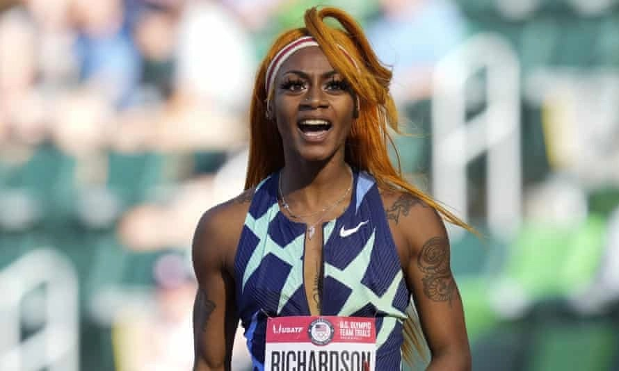Sha'Carri Richardson Will Compete Against Three Jamaican Medalists Who Won at the Tokyo Olympics