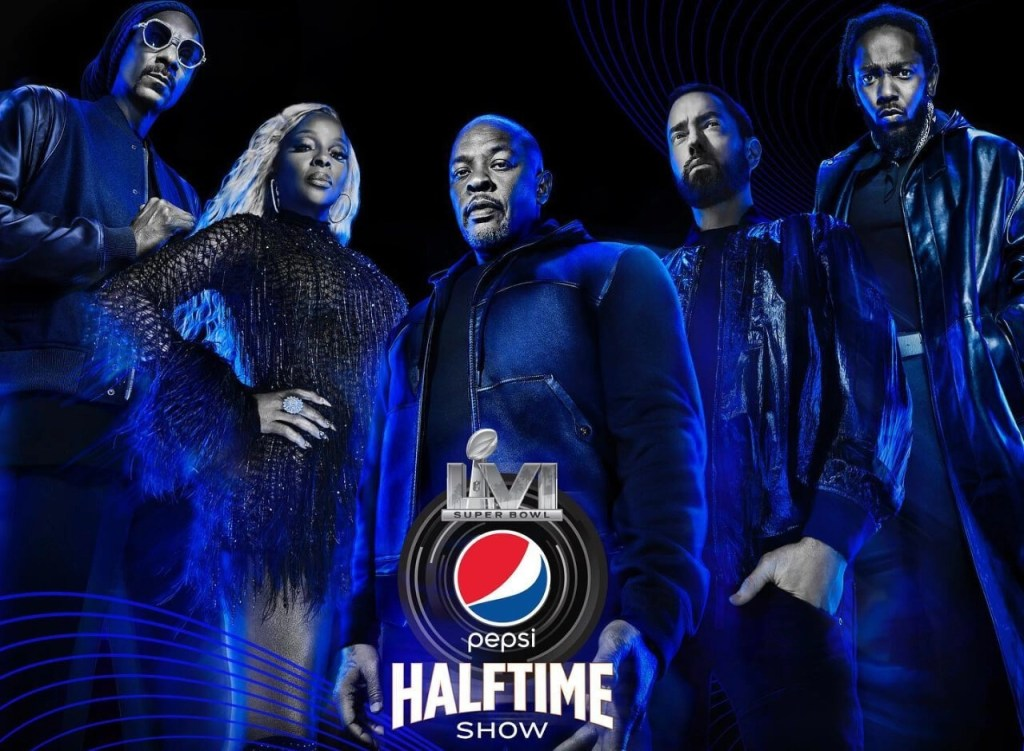 Dr. Dre, Eminem, Snoop Dogg, Mary J. Blige and Kendrick Lamar to Headline The Pepsi Super Bowl LVI Halftime Show