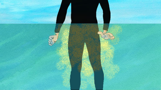 An ode to peeing in your wetsuit.