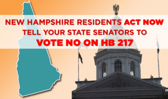 New Hampshire: Call your State Senators RIGHT NOW to oppose HB217! (UPDATED)