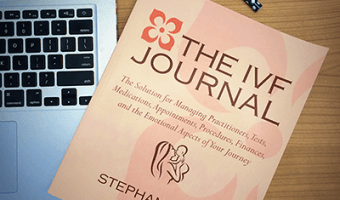 The IVF Journal: Your Infertility Journey's New, Super-Organized Best Friend