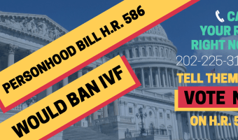 We Need To Tell Congress To OPPOSE H.R. 586, Pronto