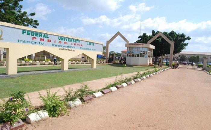 list-of-courses-offered-in-federal-university-of-lafia-nasarawa