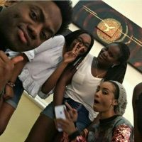 Korede Bello's outfit to a 13-Year-Old girl birthday party (photos)