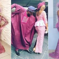 Checkout Beautiful Celebrity Couples at Banky W and Adesua Etomi's Traditional Wedding (Photos)