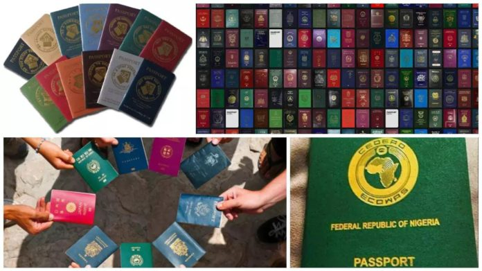 Countries with the most powerful Passport in the World – See where Nigeria is ranked in the world