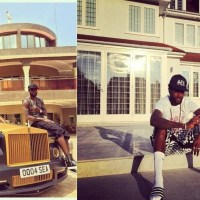 The fabulous life of Emmanuel Adebayor - His private jets, houses, motor bikes, cars, shoes (Photos)