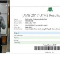 Official JAMB cut off marks for Universities, Polytechnics and Colleges - 2017/2018 Admissions