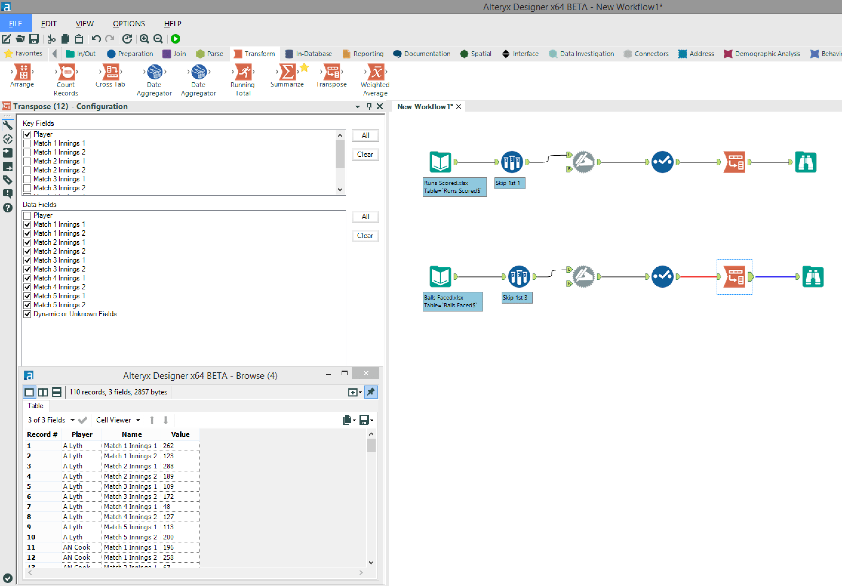 Alteryx For Sport