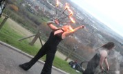 Fire Eaters at the Official Opening.
