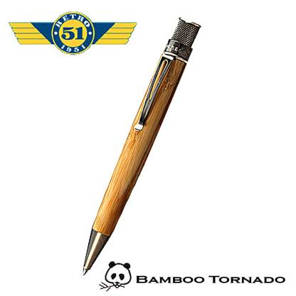 Retro51 Bamboo Roller Pen