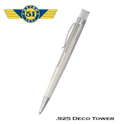 Retro51 925 Deco Tower Ball Pen