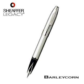 Sheaffer Barleycorn Silver Fountain Pen
