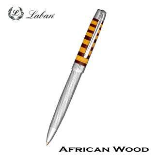 Laban African Wood Ball Pen