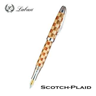Laban Scotch Plaid Fountain Pen