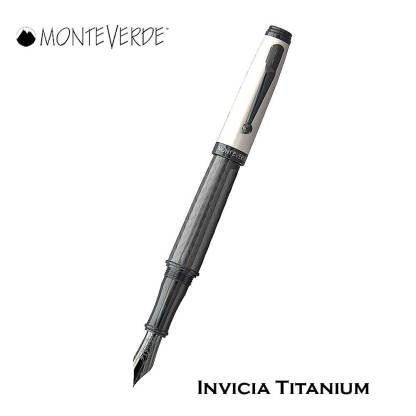 Monteverde Invicia Titanium Fountain Pen