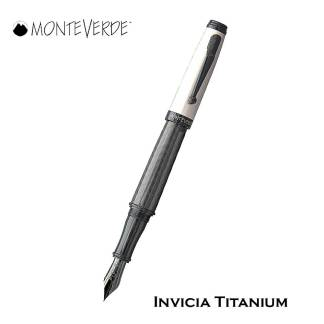 Monteverde Invicia Titanium Fountain Pen
