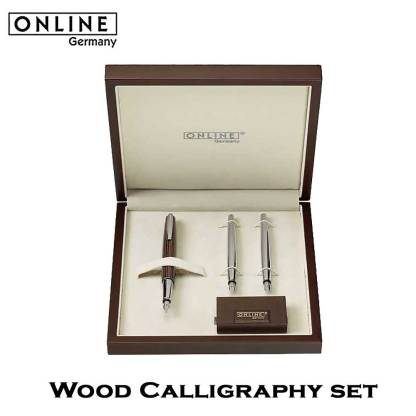 ONLINE Wood Calligraphy Set