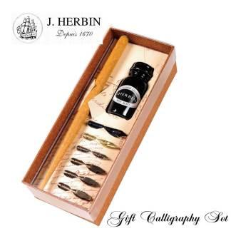 J Herbin Gift Calligraphy Set