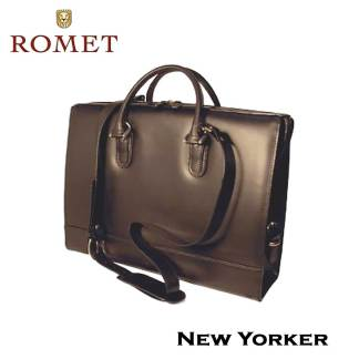 Romet New Yorker Leather Briefcase