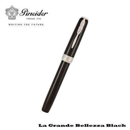 Pineider Grande Belleza Black Fountain Pen