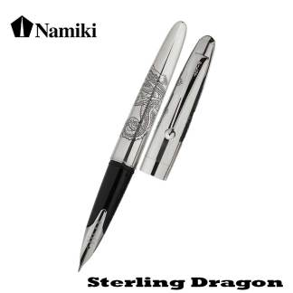 Namiki Sterling Silver Dragon