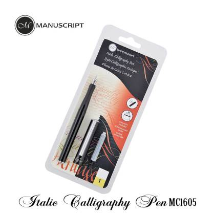 Manuscript Italic Calligraphic Pen