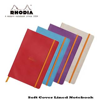 Rhodia Softcover Lined Notebook