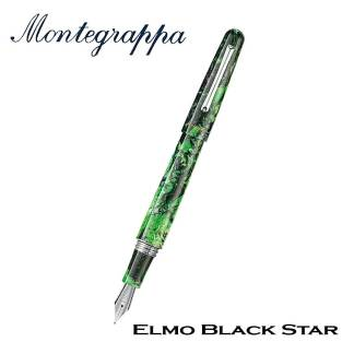 Montegrappa Elmo Black Star Fountain Pen