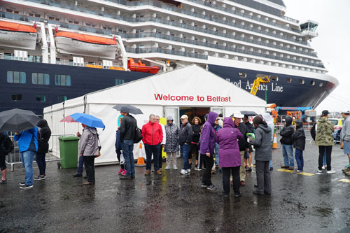 Day Belfast Northern Ireland The Inside Cabin Exploring - Cruise to ireland from us
