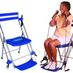 Chair Gym Exercise System With Twister Seat Burlap Bows For Wedding Chairs Home Fitness