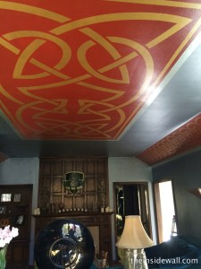 www.theinsidewall.com minneapolis minnesota celtic mural on ceiling