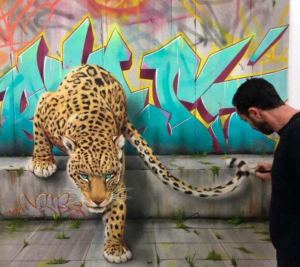 Graffiti Animals Dave Baranes
