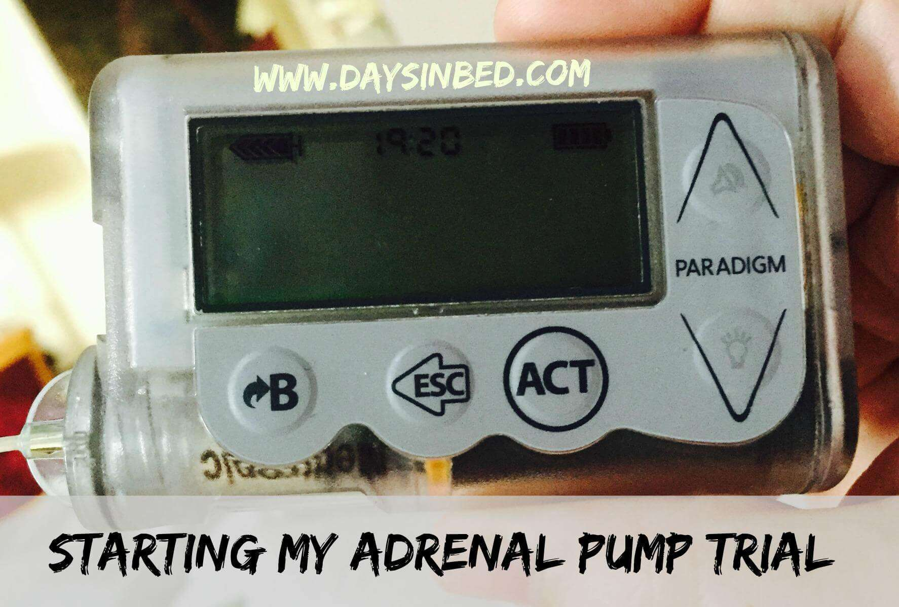 Starting My Adrenal Pump Trial The Inspiration Edit