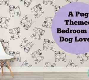 pug themed bedroom