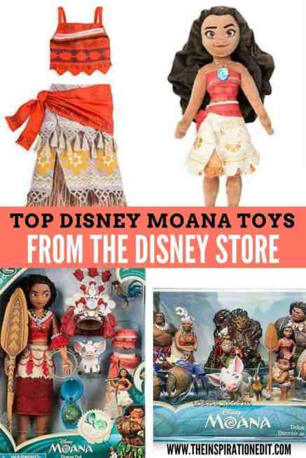 "We have Disney Moana Toys from the Disney movie ""Moana"". My daughter loves her Disney toys and looks like the female character Moana!"