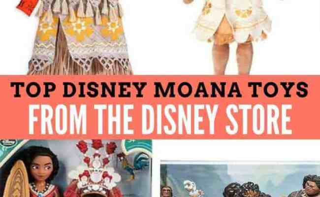 Top Disney Moana Toys To Buy From The Disney Store The