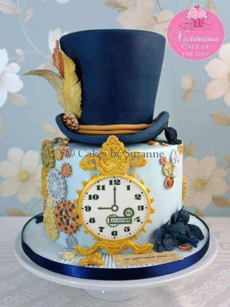 10 Mad Hatter Cakes Alice In Wonderland 183 The Inspiration Edit