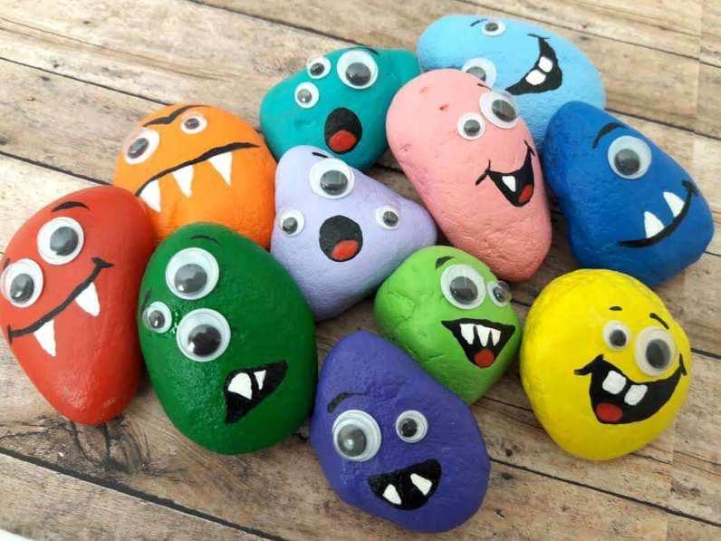 Rock Stones Monster Craft