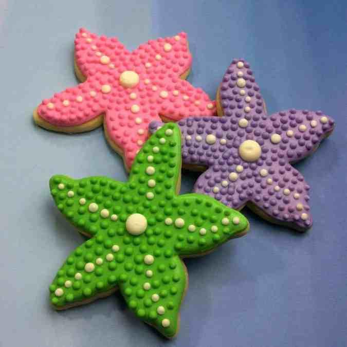 The Little Mermaid Starfish Cookie Food Idea