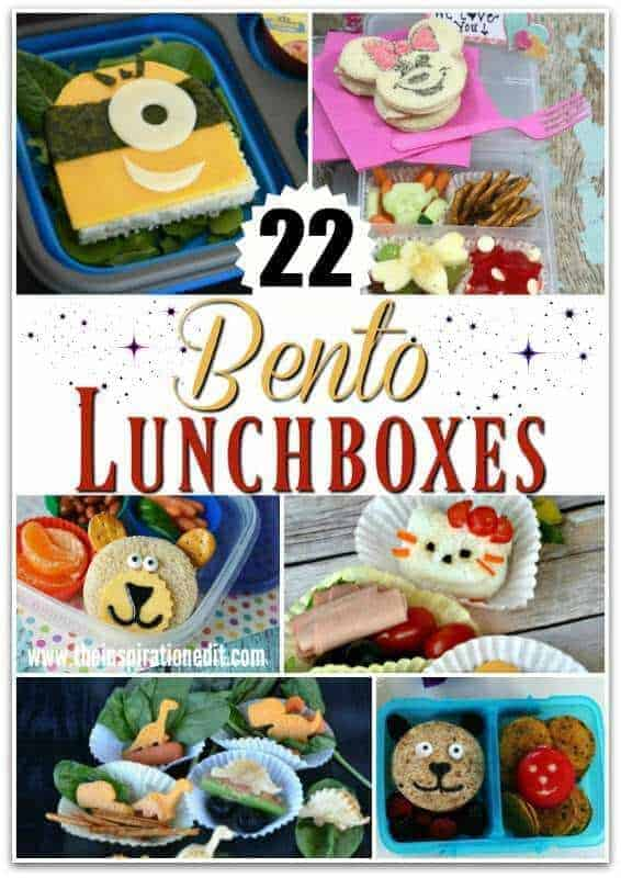 22 Fantastic and fun bento lunchbox ideas for kids