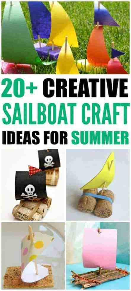 sailboat craft ideas