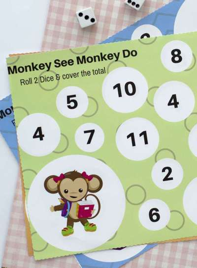 kids free printable game